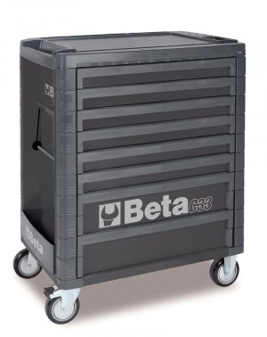 8 DRAWER ROLL CAB TOOLBOX FROM BETA - GREY