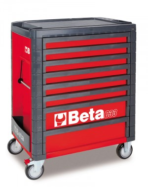 8 DRAWER ROLL CAB TOOLBOX FROM BETA - RED
