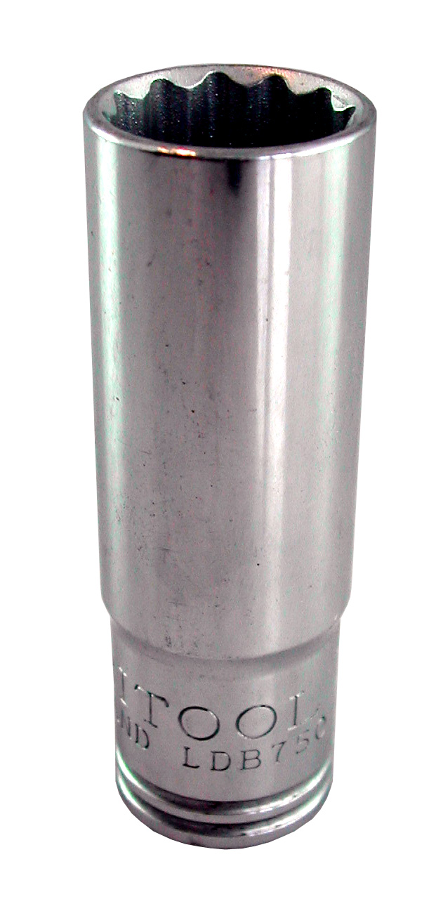 Britool Bi-Hexagon Deep Socket 1//2in Drive 22mm