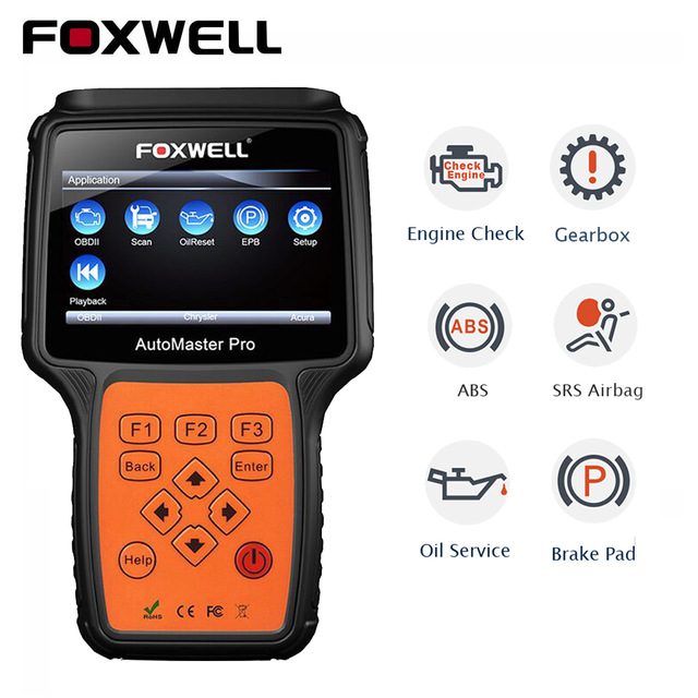 Details about FOXWELL ENGINE, ABS, AIRBAG, GEARBOX, EPB & SERVICE RESET  DIAGNOSTIC SCAN TOOL